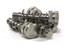 LM10 Screws & Springs set (x4)-PEEK